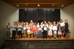 The end of the year Recitals