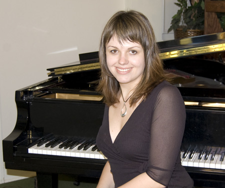 Nadia, the President of Nadia School of Music