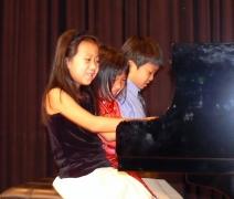 Sophia, Jessica and Jeffrey